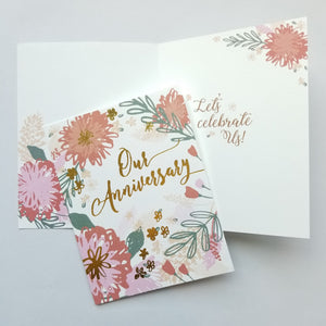 Anniversary Cards (variety of design options)