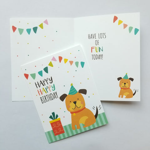 Kids Birthday Cards (variety of design options)