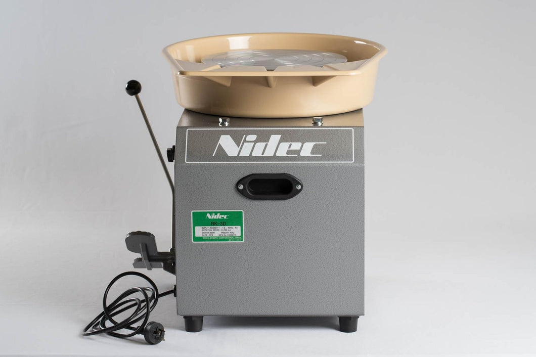 Nidec-Shimpo RK-3D (RK Whisper) Potters Wheel