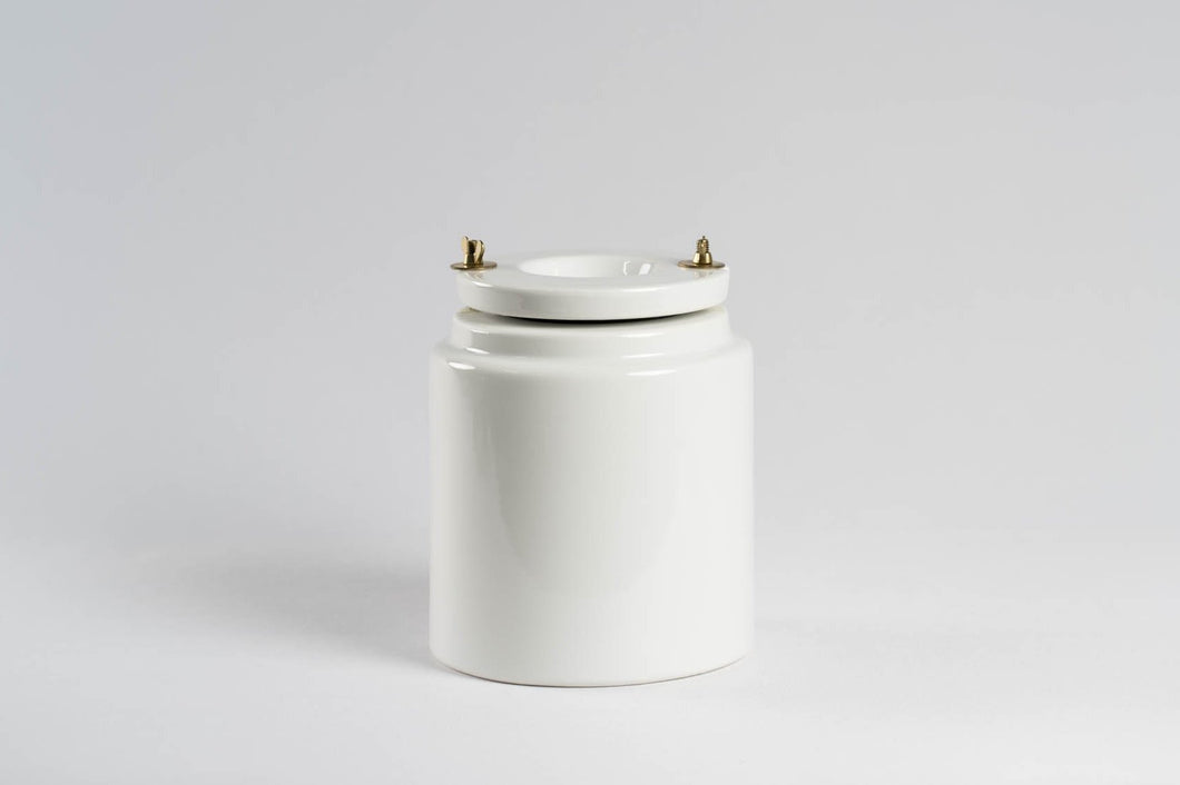 Nidec-Shimpo 2-Litre Milling Jar (With Alumina Ball Media)