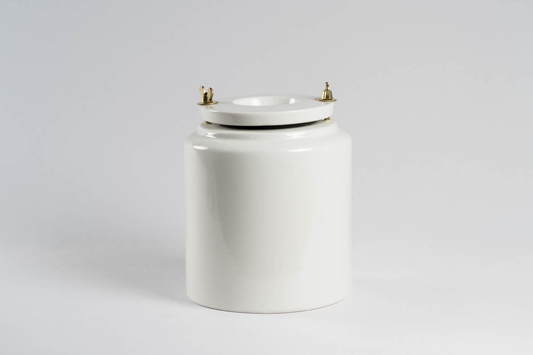 Nidec-Shimpo 3-Litre Milling Jar (With Alumina Ball Media)