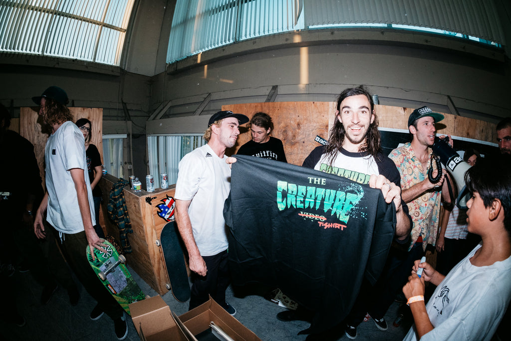 RECAP: CREATURE TOUR VIDEO PREMIER @ ACTIVE HQ