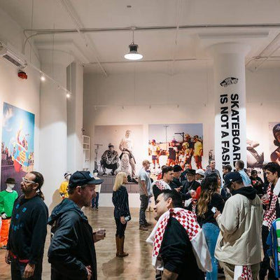 RECAP: SKATEBOARDING IS NOT A FASHION BOOK RELEASE