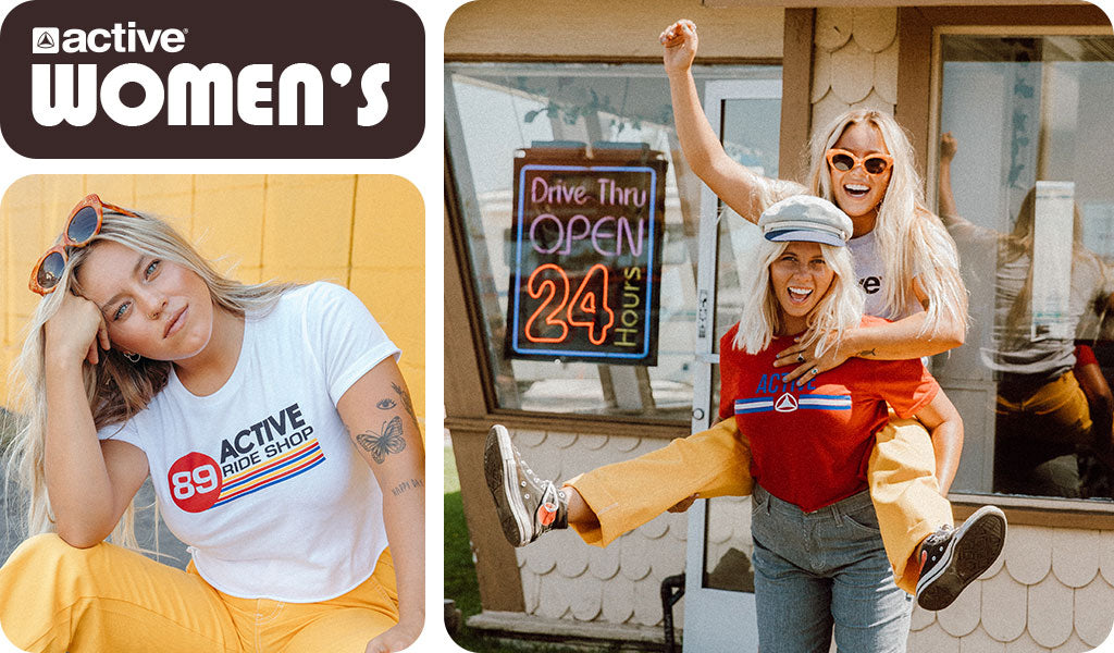 Active Womens Apparel Fall 18