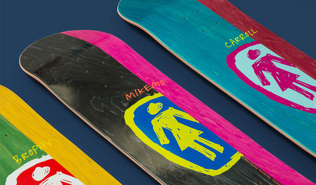 Girl Skateboards Sketchy OG Series