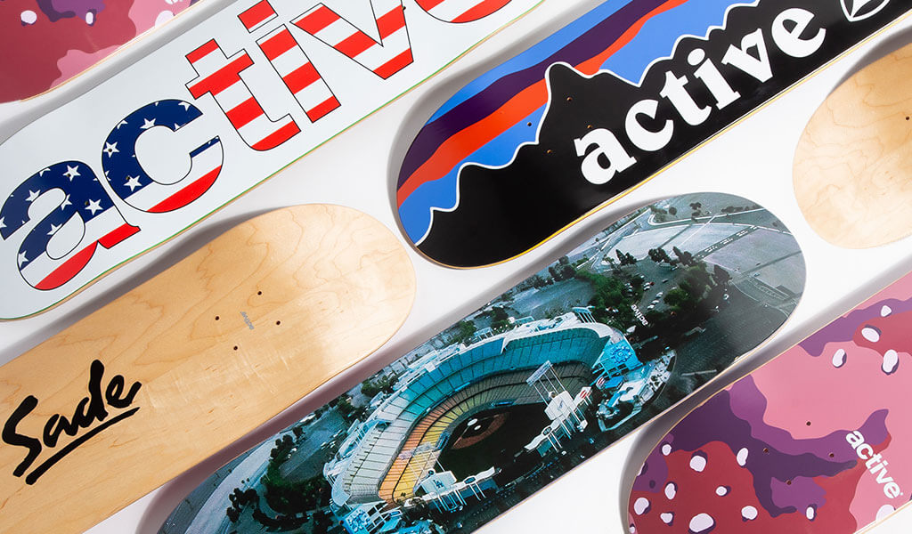Active Brand Skateboard Decks