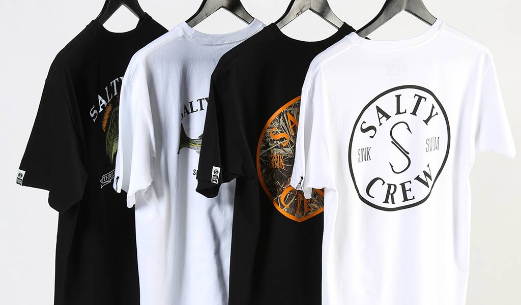 Salty Crew t-shirts