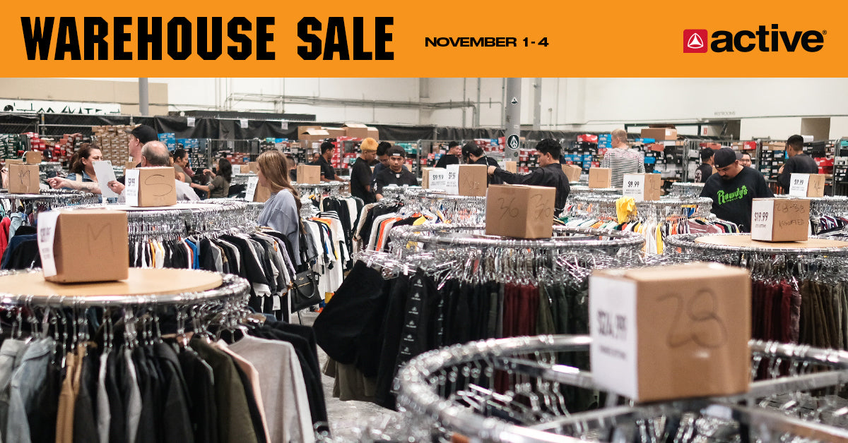 active ride shop warehouse sale 2018 clothing