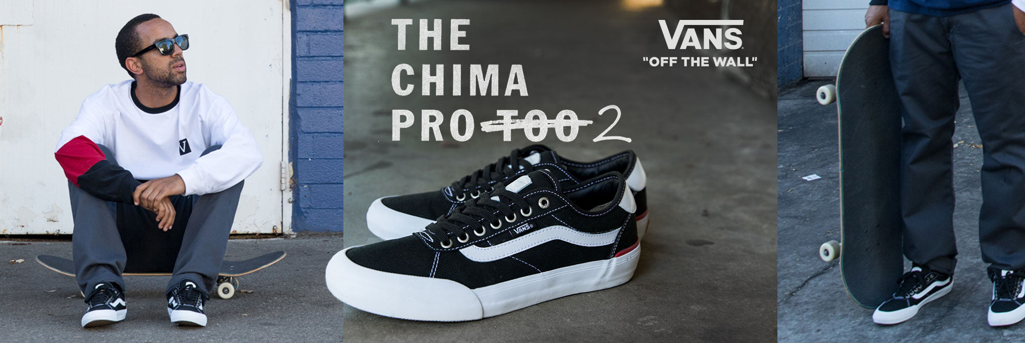 The Redesigned Vans Pro Shoe For Chima Ferguson