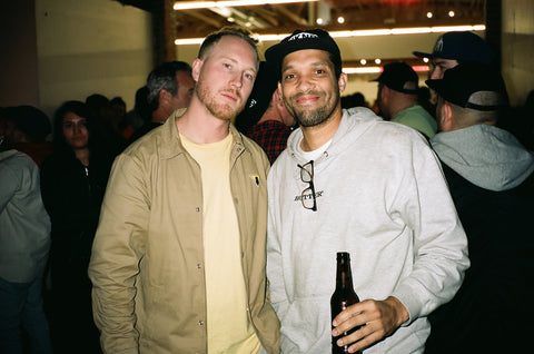 homies Ryan from RIP N DIP & Scott Mackey