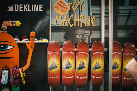 Jeremy Leabres toy machine