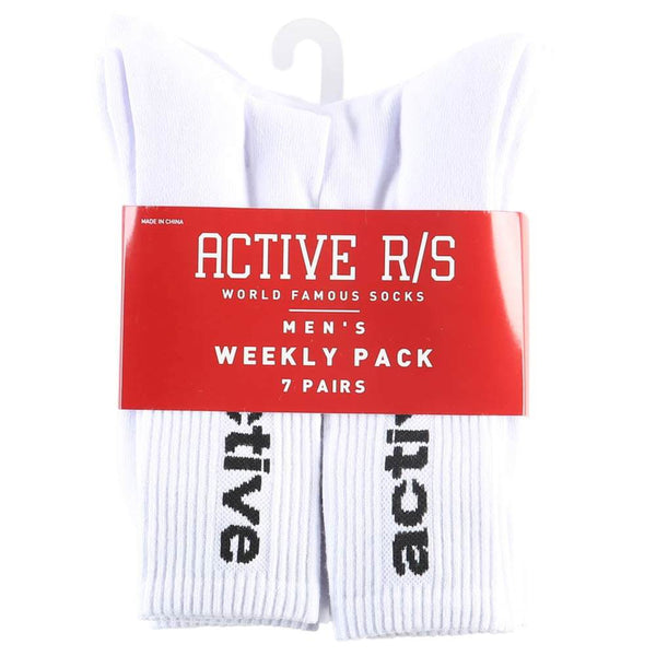 Mens 7pk Crew Socks