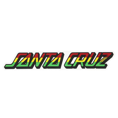 Rasta Strip Sticker