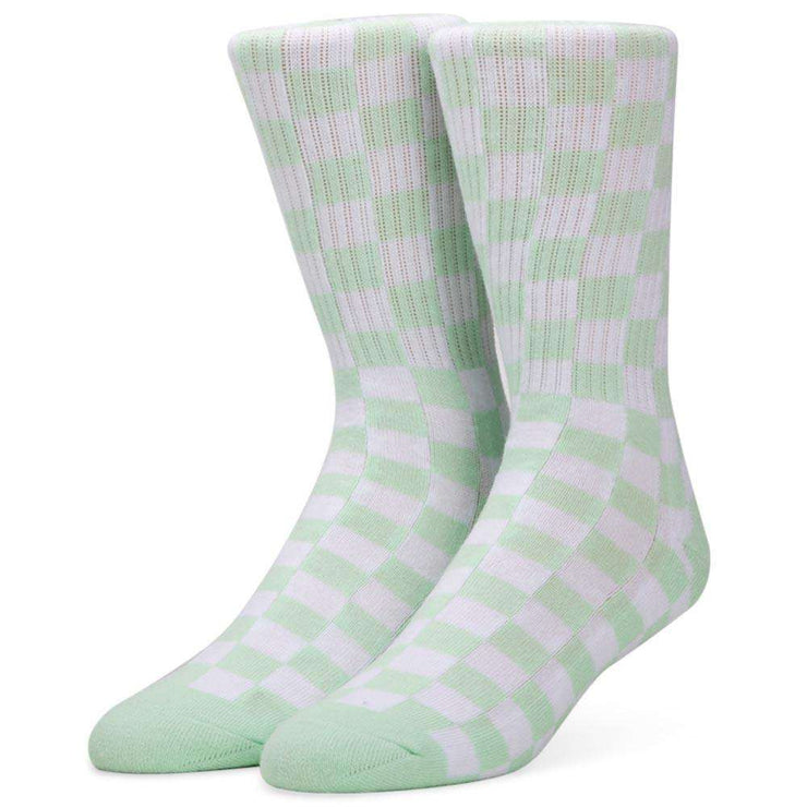 Womens Check Crew Socks
