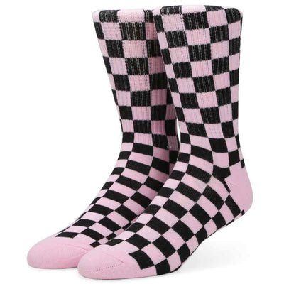 Womens Check Crew Sock