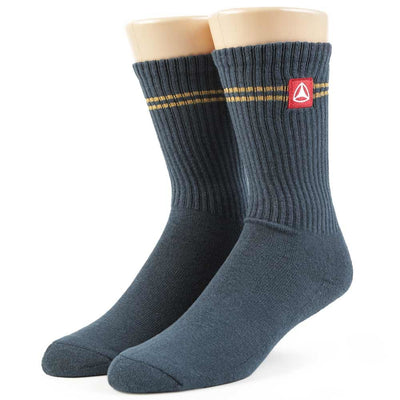 Womens Stripe Crew Sock