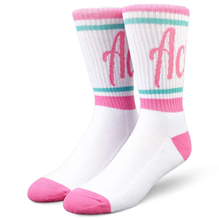 Womens Volume Crew Socks