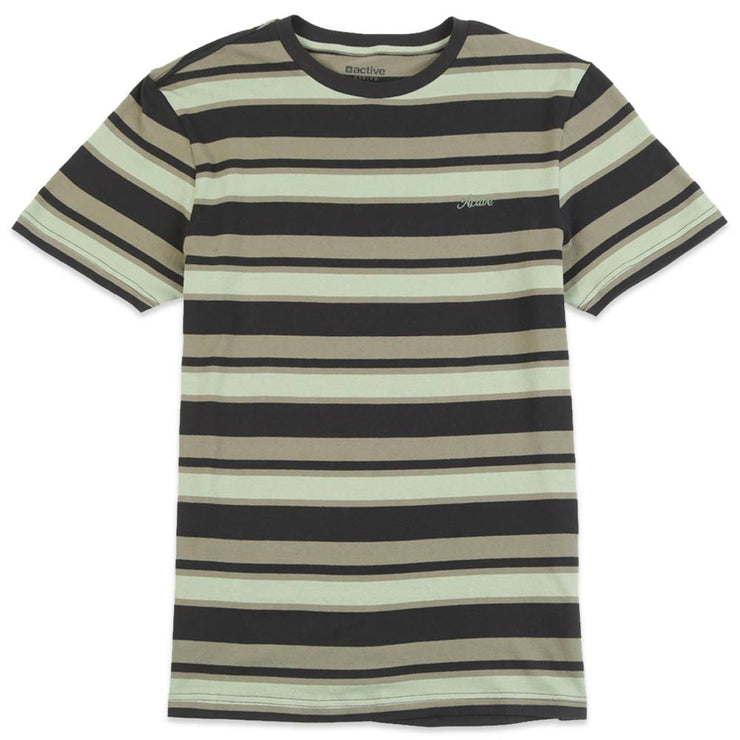 Cabrillo Stripe Ss Knit
