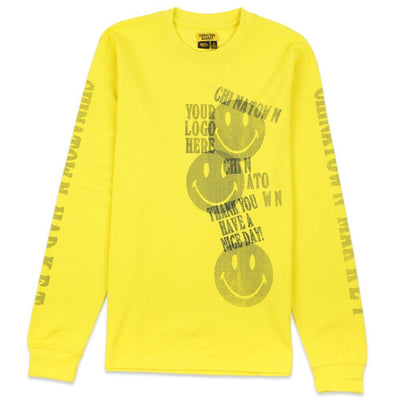 Print Gun Long Sleeve T-Shirt
