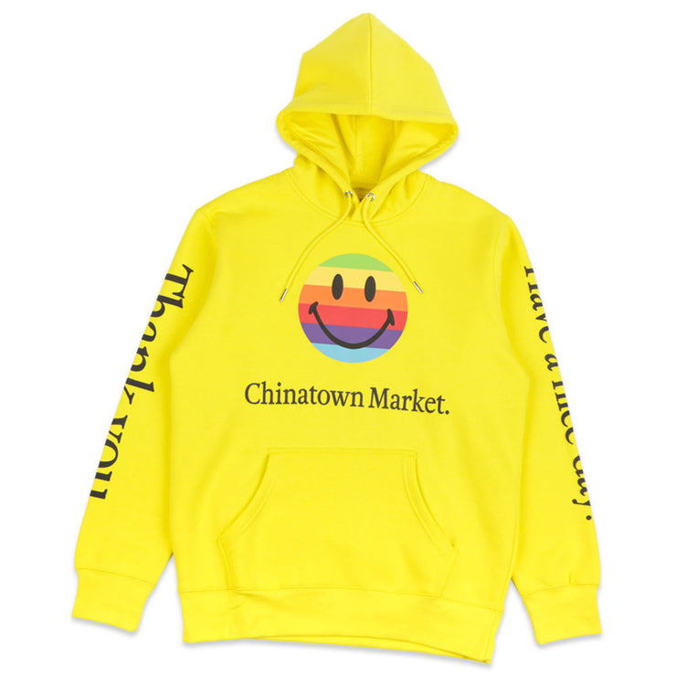 Smiley Apple Hooded Sweatshirt