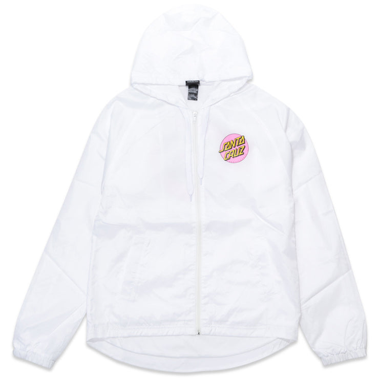 Other Dot Hooded Windbreaker Jacket