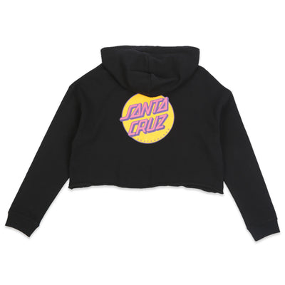 Other Dot Crop Hooded Sweatshirt