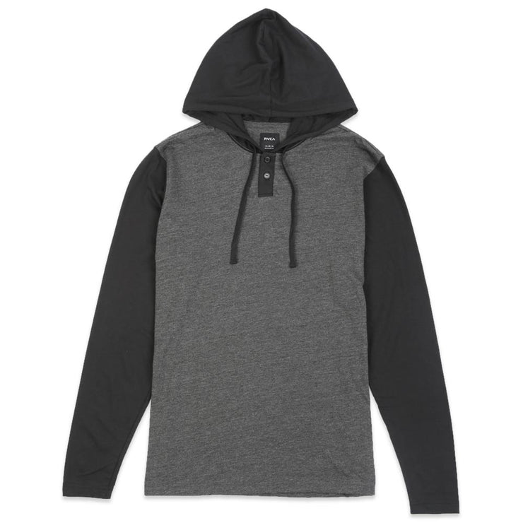 Pick Up Long Sleeve Hooded Knit