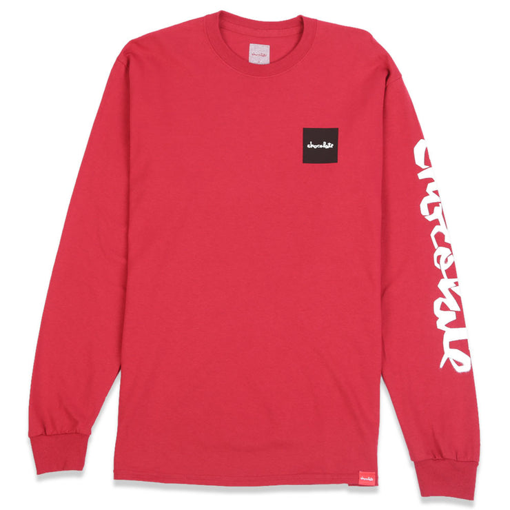 Stencil Long Sleeve T-Shirt