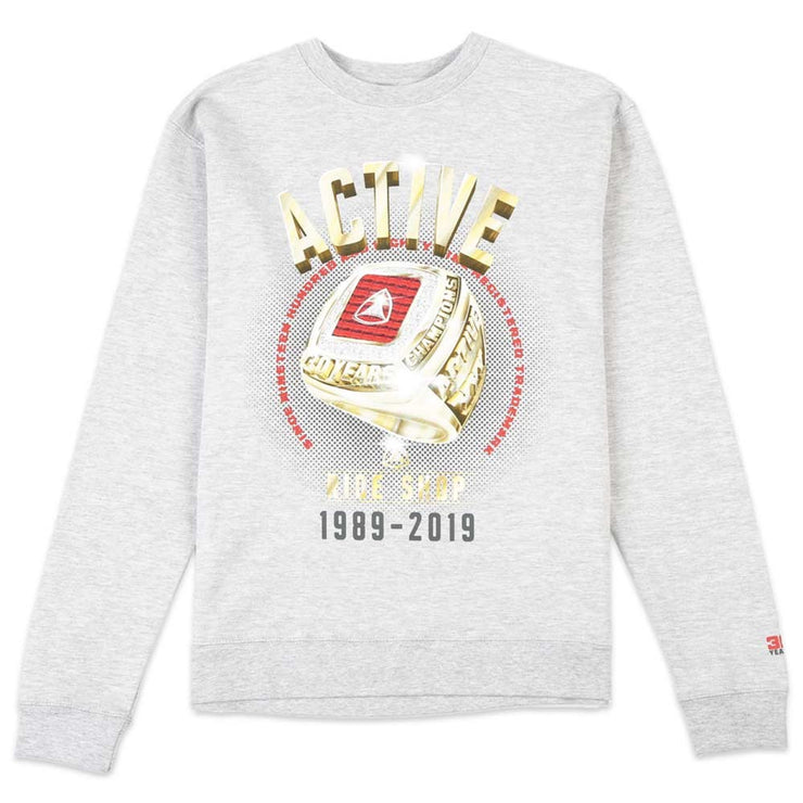 Gold Ring Crew Sweatshirt