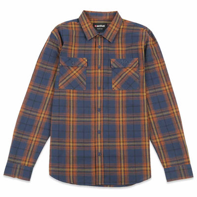 Plaid Long Sleeve Work Shirt