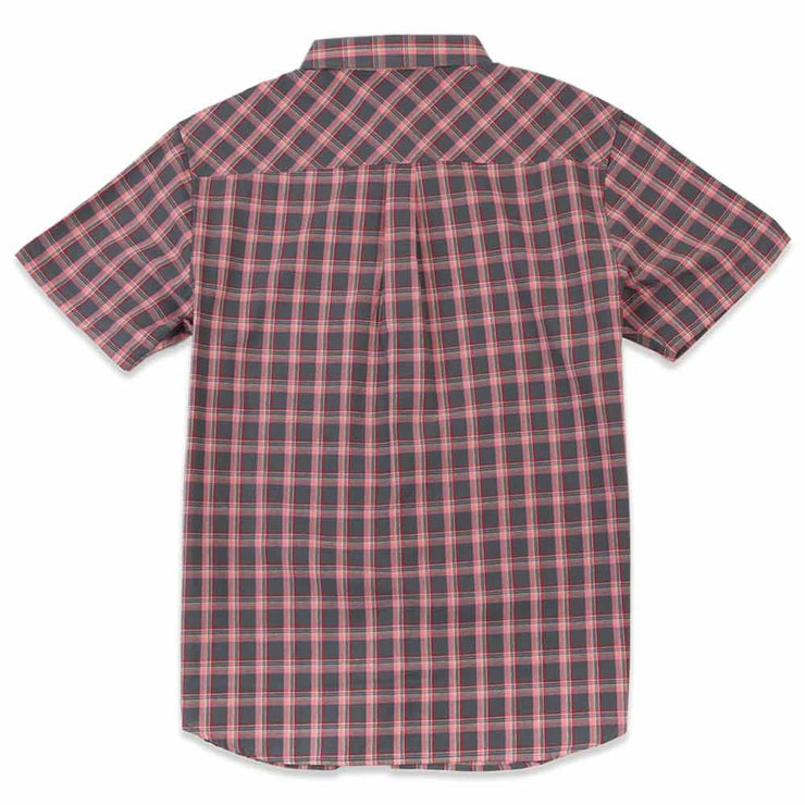 Plaid Poplin S/S Work Shirt
