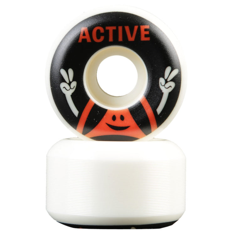Peace Skateboard Wheels - Black
