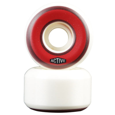 Active Established Skateboard Wheels in Red