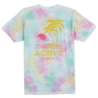 Tropical Autumn Pocket T-Shirt