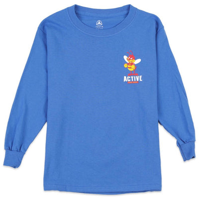 Fight Bee Skateboard Youth L/S T-Shirt
