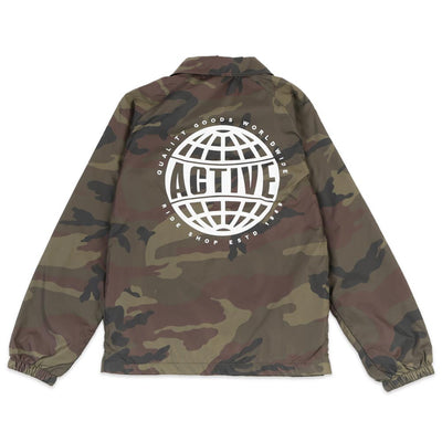 Quality Goods World Youth Coaches Jacket