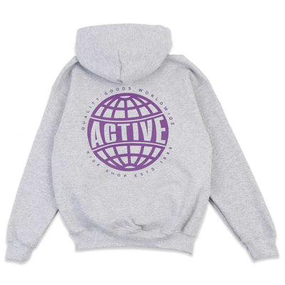 Quality Goods World Youth Hooded Sweatshirt