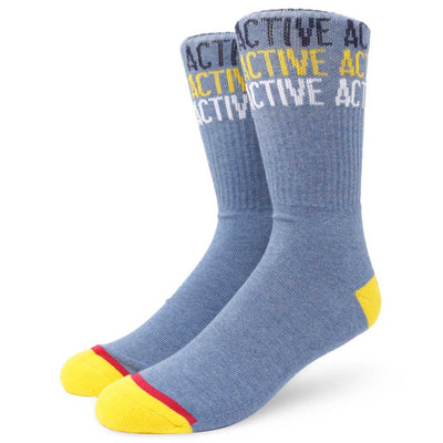 Mens Athlete Crew Sock