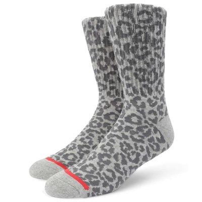 Mens Leopard Sock