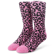 Womens Leopard Sock