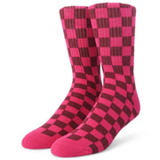 Womens Checker Sock
