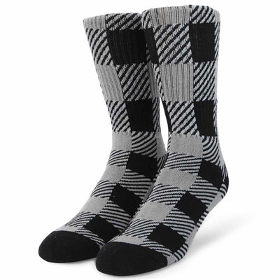 Womens Buffalo Check Sock