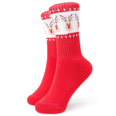 Rudolph Youth Sock