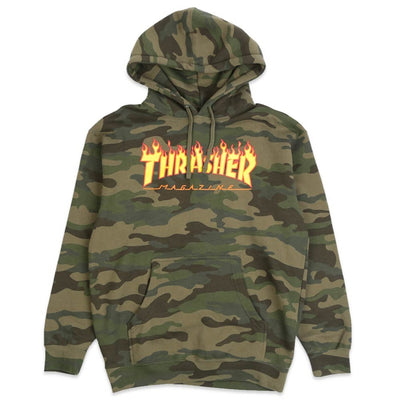 Flame Forest Hooded Sweatshirt