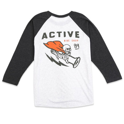 Skull Graphic Raglan