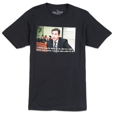 The Office Michael Photo Tee