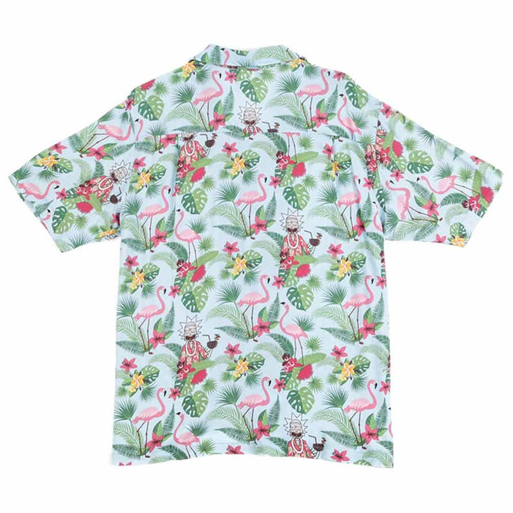 Rick & Morty Hawaiian Short Sleeve Woven
