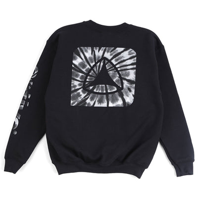Logo Tie Dye Fill Youth Crew Sweatshirt
