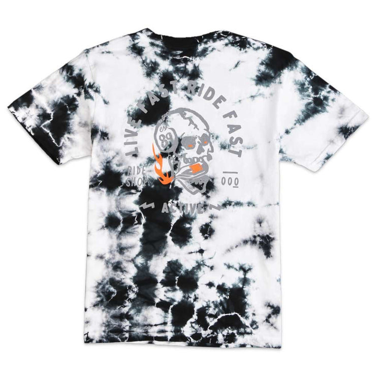Live Fast Tie Dye Youth T-Shirt