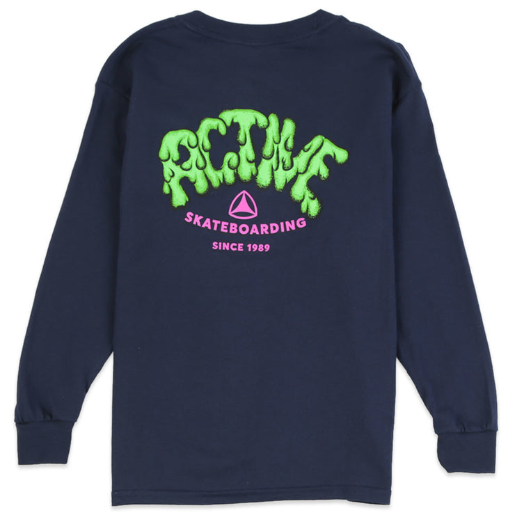 Slime Logo Youth L/S T-Shirt